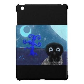 Moonlight stargazing iPad mini case