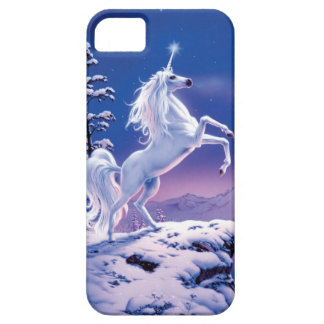 Moonlight Unicorn Barely There iPhone 5 Case