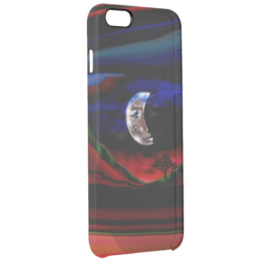 Moonlight Valley Clear iPhone 6 Plus Case