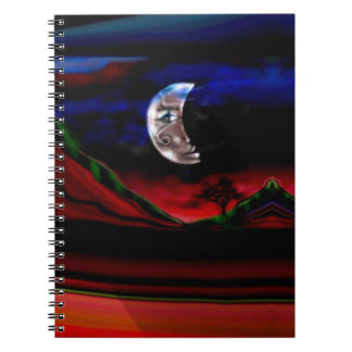 Moonlight Valley Notebook