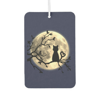 Moonlit Cat Car Air Freshener