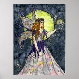 Moonlit Faeries - PRINT