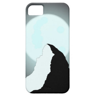 Moonlit Mountain Barely There iPhone 5 Case