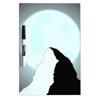 Moonlit Mountain Dry Erase Board
