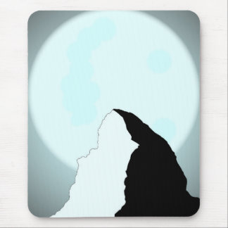 Moonlit Mountain Mouse Pad