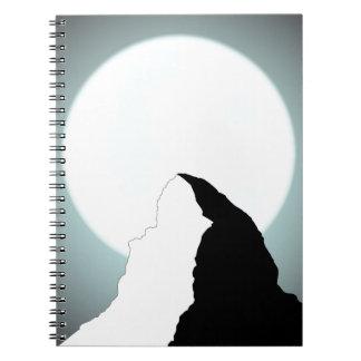 Moonlit Mountain Notebook