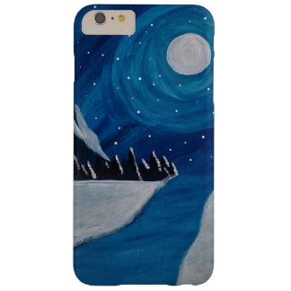 Moonlit Mountains Barely There iPhone 6 Plus Case