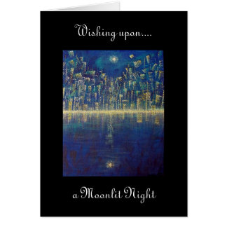 Moonlit Night Note Card