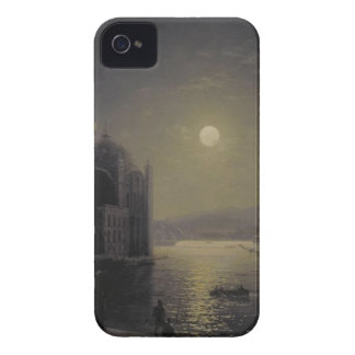 Moonlit Night on the Bosphorus by Ivan Aivazovsky iPhone 4 Case