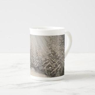 Moonlit Winter Night Tea Cup