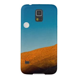 Moonrise over Mojave desert Galaxy S5 Cases