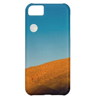 Moonrise over Mojave desert Case For iPhone 5C