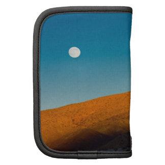 Moonrise over Mojave desert Organizer