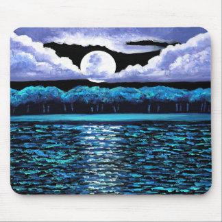 Moonrise over Wingaersheek 2 Mousepad