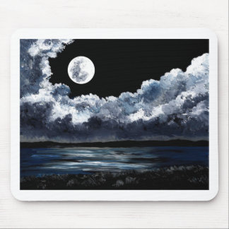 Moonrise Over Wingaersheek Beach Mousepad