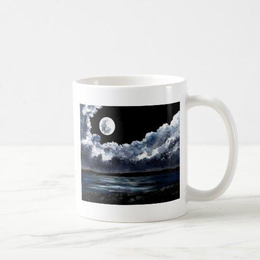 Moonrise Over Wingaersheek Beach Mug