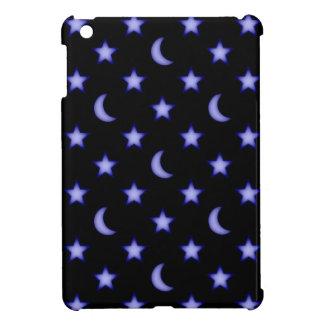 Moons and stars pattern iPad mini cases