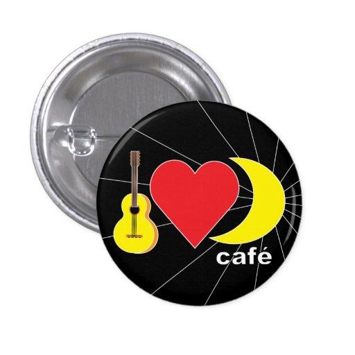 Moonshine Cafe Pinback Button