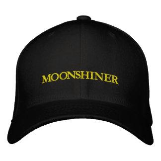 MOONSHINE EMBROIDERED BASEBALL CAPS