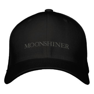MOONSHINE EMBROIDERED CAP