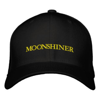 MOONSHINE EMBROIDERED HATS