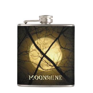 MOONSHINE HIP FLASKS