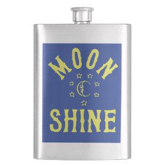 MOONSHINE Flask Funny