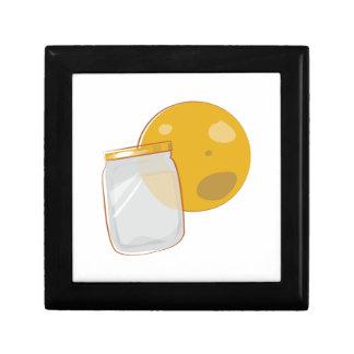 Moonshine Jar Trinket Boxes