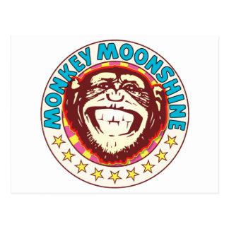 Moonshine Monkey Postcard