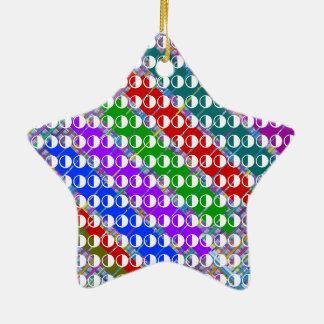 MOONshine Moon Constellations Christmas Ornament