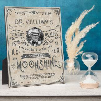 Moonshine Vintage Funny Hillbilly Medicine Custom Plaques
