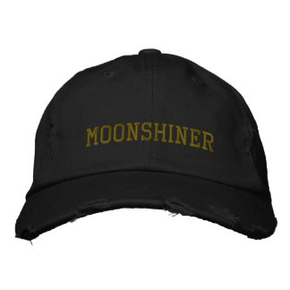 MOONSHINER EMBROIDERED BASEBALL CAP