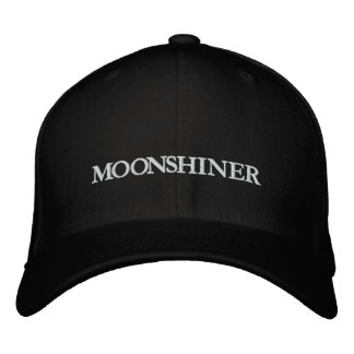 MOONSHINER EMBROIDERED BASEBALL CAPS