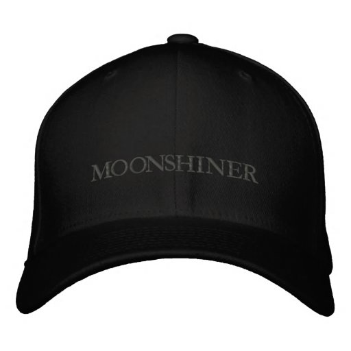 MOONSHINER EMBROIDERED HATS