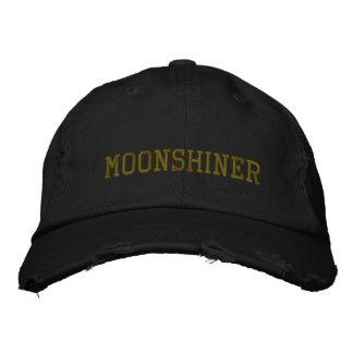 MOONSHINER EMBROIDERED BASEBALL CAP