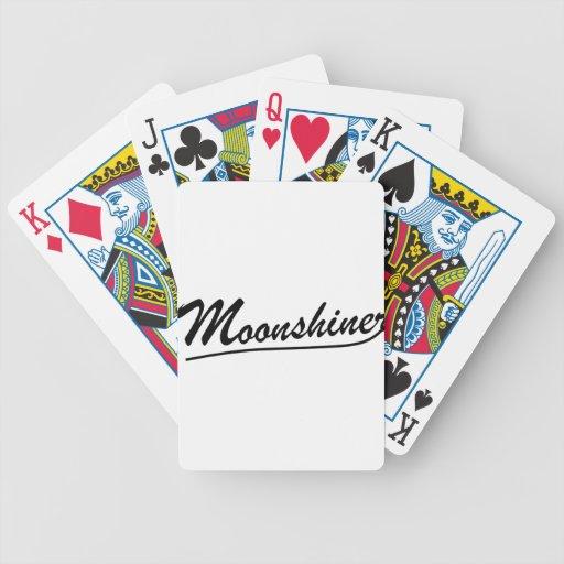 Moonshiner Poker Deck