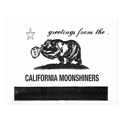 moonshiners 2 , greetings from the , post card