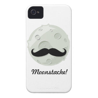 Moonstache A fun moustache theme iPhone 4 Covers