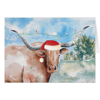 Mooooie Christmas Card