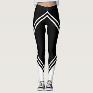 MOOR leggings symmetrical straight line