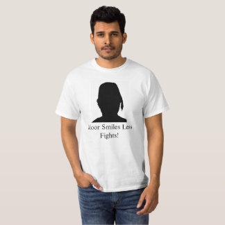 Moor/More Smiles Less Fights M14 T-Shirt