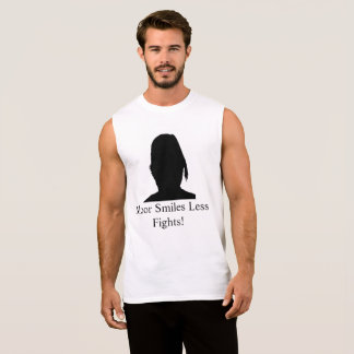 Moor/More Smiles Less Fights M6 Sleeveless Shirt