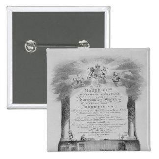 Moore & Co. Trade Card 15 Cm Square Badge