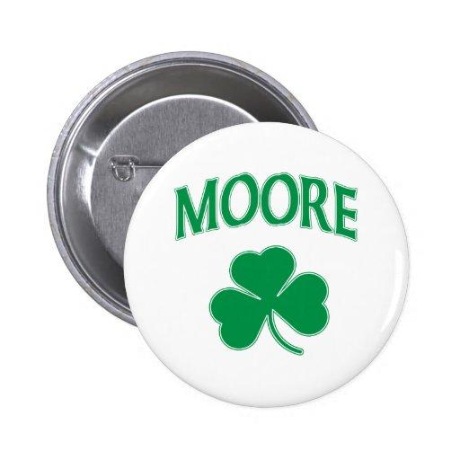 Moore Irish Pinback Button