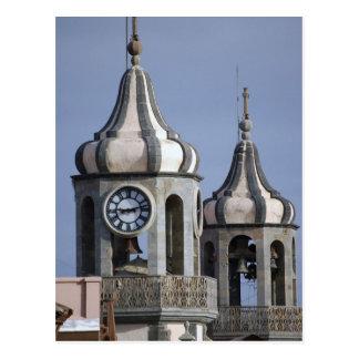 Moorish architectue of La Orotava, Tenerife Postcard