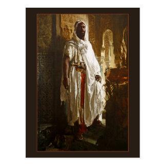 Moorish Chief by Eduard Charlemont Postcard