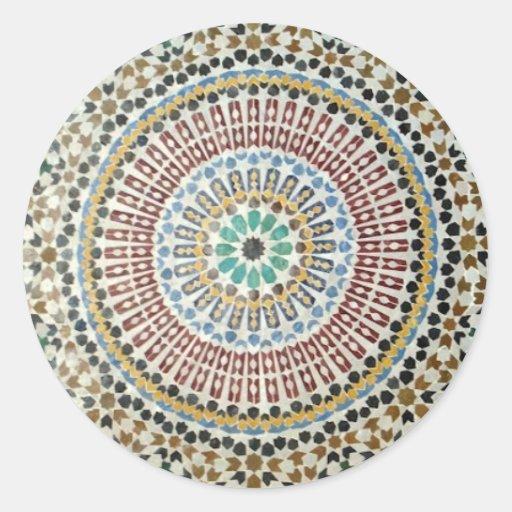 Moorish Mosaic Sticker