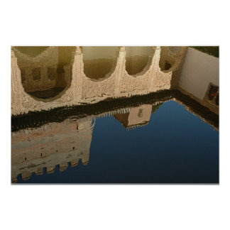 Moorish Reflections Poster