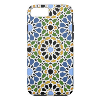 Moorish tile iPhone 7 Case