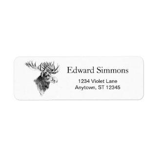 Moose Address Labels
